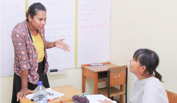 フィジーで英語が伸びる理由 レベルに合わせた幅広いクラス