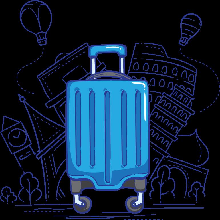 スーツケースのイメージ写真